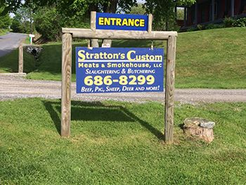 Stratton's Custom Meats, mobile slaughter service and local meat processing